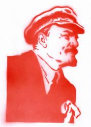 Lenin goes to penin. by hanz-uber-hanz