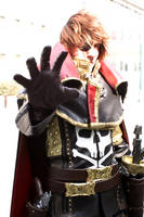 Cosplay Captain Harlock / Albator by CosplayQuest