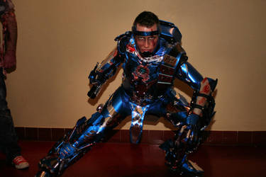 Cosplay Iron Sub-Zero by CosplayQuest