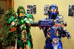 Cosplay Iron Lantern and Iron Sub-Zero by CosplayQuest
