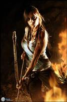 Lara Croft Tomb Raider Reborn Cosplay by CosplayQuest