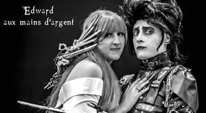 Edward Scissorhands cosplay by CosplayQuest