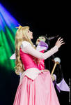 Sleeping Beauty vs Maleficent by CosplayQuest