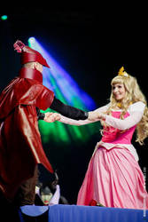 Sleeping Beauty and Prince Philip Cosplay by CosplayQuest