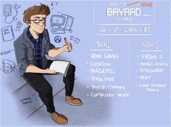 Meet the Author: BayRad by BayRad