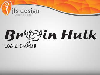 Brain Hulk logo by JFS-Design
