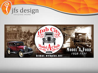 Hub City A's banner by JFS-Design
