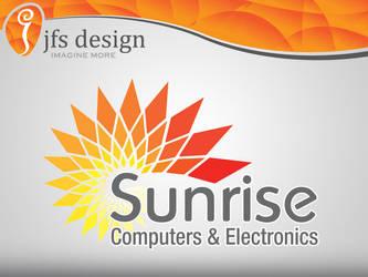 Sunrise Computers logo by JFS-Design