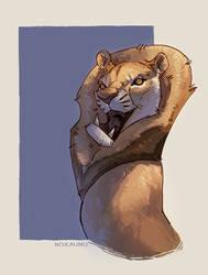 Sir Lion by Noxaunu