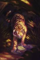 Jungle Prowler by Noxaunu