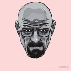 T-Shirt Design - Heisenberg - Breaking Bad by PaulTelling