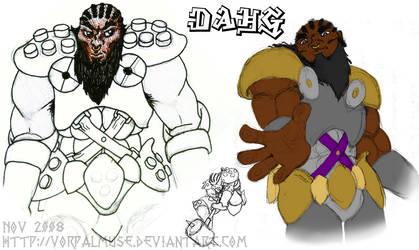 Dahg the Dwarf by AThousandRasps