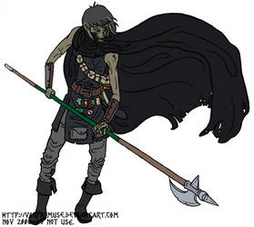 Defensive Kain by AThousandRasps