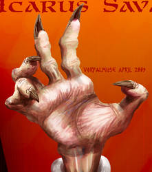 Wolfshriek hand by AThousandRasps
