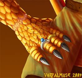 Storyteller hand detail by AThousandRasps