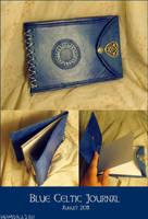Blue Celtic Journal by AThousandRasps