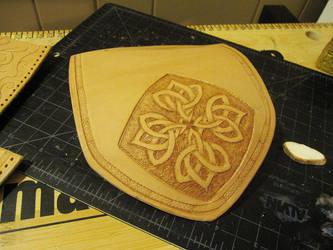Celtic Knot Bag WIP 1 by AThousandRasps
