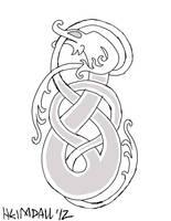 Norse Wyrm Design by AThousandRasps
