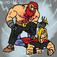 Thor vs. Thor by AThousandRasps