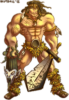 Barbarian by AThousandRasps