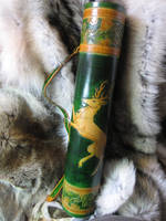 Oak Stag Quiver by AThousandRasps