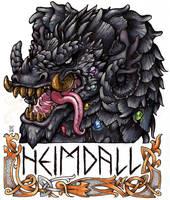 Heimdall Badge by AThousandRasps