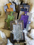Leather Book Holsters by AThousandRasps