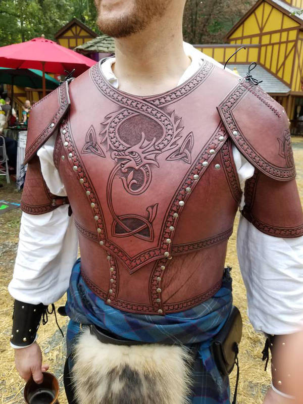 Wyrmborder Armor Front by AThousandRasps