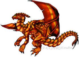 Dragon James by AThousandRasps