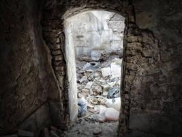 Ruins Gate by Ehsartem