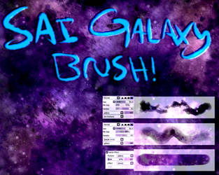 SAI Galaxy/ Space Brush Texture! by AsymmetricButterfly