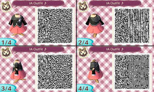 Animal Crossing NL- QR Code- Vocaloid IA by hearts2love16