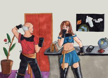 Dark Mirror - Illustration by camir