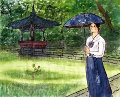 Seoul. In the Secret garden by Vokabre