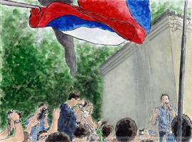 Rally against Yarovaya law by Vokabre