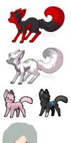 Adopt Pack by shewolfzoroark