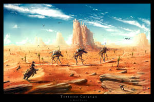 Tortoise Caravan by Prasa