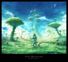 Fort Mushroom by Prasa