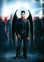 Lieutenant of Fallen Army by Prasa