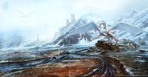 Snow Dragon by Prasa