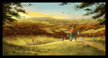 Autumn Wanderer by Prasa