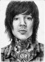 Oliver Sykes by mobbinka