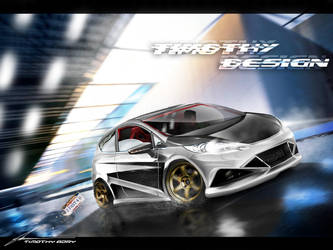 Ford Fiesta High Speed by Adry53