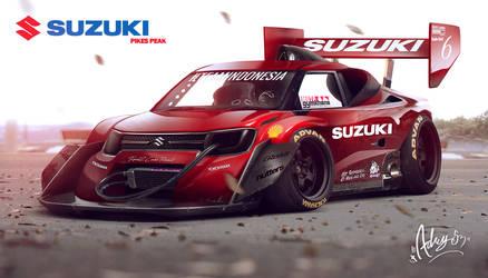Suzuki Ignis Pikes Peak by Adry53