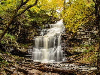 Ganoga Falls, Ricketts Glen State Park by kyleshikes