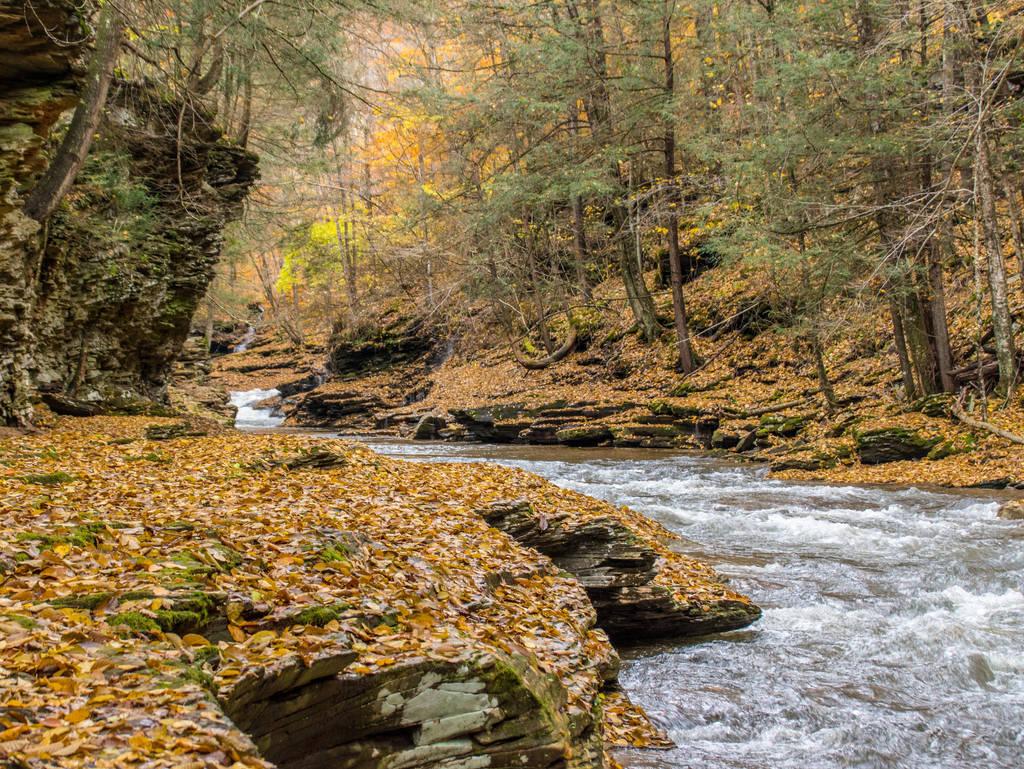 Autumn at Rock Run by kyleshikes