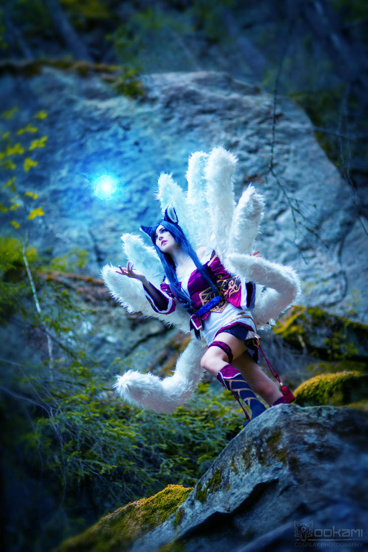 Ahri from League of Legends Cosplay by WhiteSpringPro
