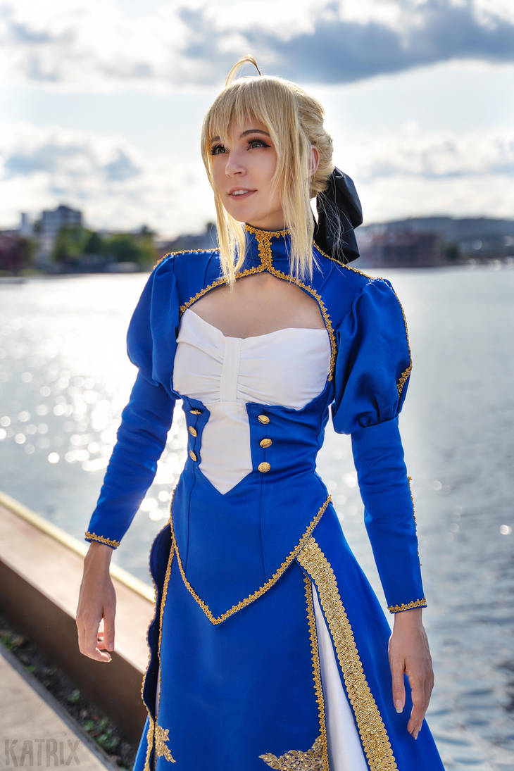 Saber from Fate/Stay Night Cosplay by WhiteSpringPro