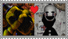 Golden Freddy X The Puppet stamp by AmetrineDragon