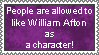 William Afton Stamp by AmetrineDragon